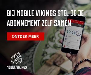 Mobilevikings.be cashback