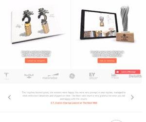 3D Trophy Factory.com cashback