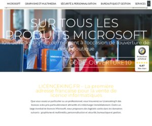 Licenceking France cashback